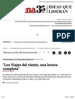 """""""Los Viajes Del Viento, Una Locura Completa"""""""