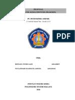 Proposal Pkl PETROKIMIA (2)