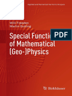 Special Functions of Mathematical (Geo-) Physics - Gutting