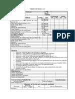 Ordem de Produção-Partica 3 - Detergente Lava-louças