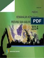 Watermark Indeks Kemahalan Konstruksi 2014