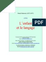 Delacroix - L'enfant et langage.pdf