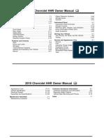 2010 Chevrolet HHR Manual