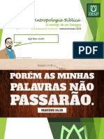 Aula 6 - o Inimigo Do Ser Humano - Power Point