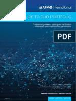APMG Qualifications Catalogue