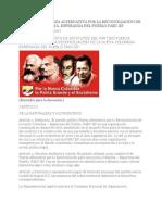 Estatutos Del Partido TERRORISTA DE FARC (2017)