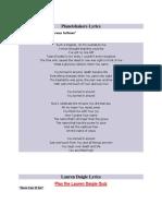 Planetshakers Lyrics