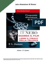 Scaricare Libri Gratis  Cinquanta sfumature di Rosso (PDF - ePub - Mobi) Di E L James .pdf