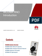 WCDMA RNO Introduction