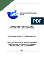 Catalogo precios unitarios CONAGUA 2011.pdf