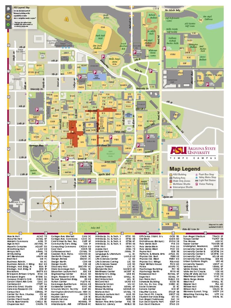 asu map tempe campus Asu Map Tempe Current Sports University Free 30 Day Trial asu map tempe campus