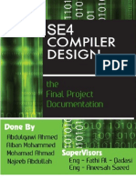 Compiler Design -- Software Design Project