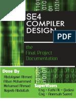 Compiler Design -- Software Design Project