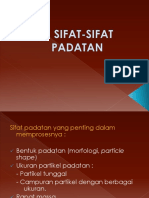 2. Sifat-sifat Padatan