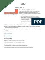 Bill Material BOM SAP  PP