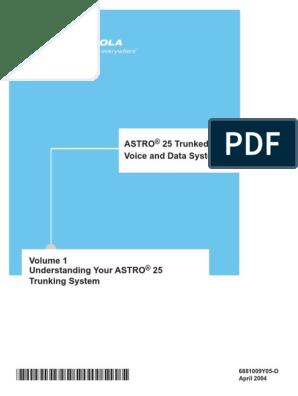 6881009Y05-O Vol 1 Understanding your Astro 25 pdf | Wide