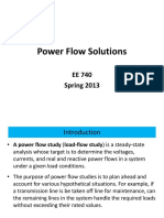 Power Flow Solutions
