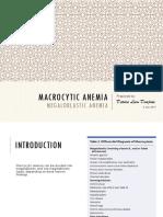 Macrocytic Anemia - Megaloblastic Anemia