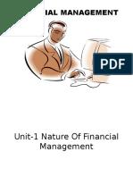 1.Unit -1 Nature of Financial Management