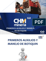 PRIMEROS AUXILIOS Y MANEJO DEL BOTIQUIN.pptx