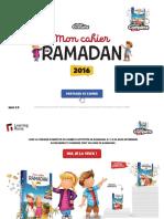 Cahier Activites Ramadan