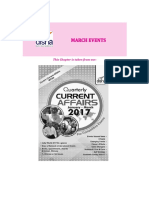 Done Current Affairs March Events 2017