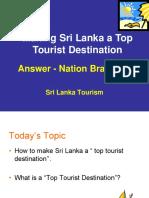 Making Sri Lanka a Top Tourism Destination.ppt