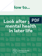 how to look after your mental health later life