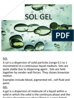 Presentation Sol Gel