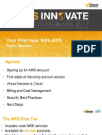 AWS Innovate - Your First Hour With AWS - Rohini Gaonkar V5