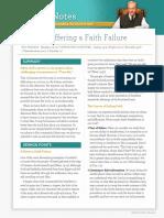 Suffering a Faith Failure