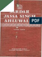 Books_Ganda Singh_Sardar Jassa Sngh Ahluwalia