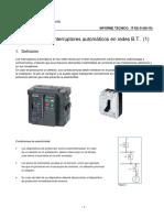 Selectividad Con Interruptores Automaticos 1