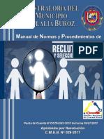 Manual de Normas y Procedimientos de Reclutamiento y Selección de Personal