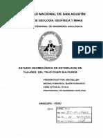 Tesis Unsa -Estudio Geomecánico de Estabilidad de t