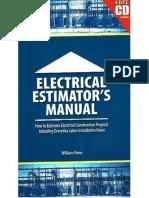Electrical Estimators Manual Book