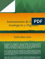 Analogicos - Digitales Instruentos de Medida
