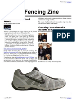Weekly Fencing Zine
