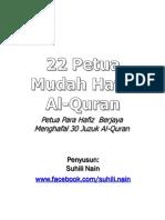 22 Petua Mudah Hafal Al-Quran.pdf.pdf