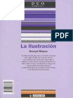 Mayos Solsona Goncal. La Ilustracion. Su Historia y Significado.