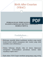 Vaginal Birth After Cesarian (VBAC)