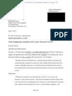Subramaniam 28(j) Letter of Supplemental Authorities Dkt. 64