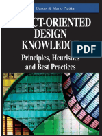 Javier Garzás, Javier Garzás and Mario Piattini-Object-Oriented Design Knowledge_ Principles, Heuristics, And Best Practices-Idea Group Pub (2007)
