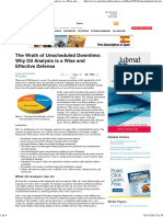 The Wrath of Unscheduled Downtime_ Why Oil Analysis is a Wise and Effective Defense