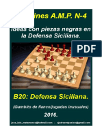 4 Ideas Con Piezas Negras en La Defensa Siciliana.