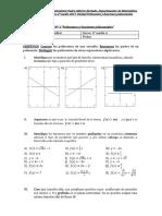 Guía N° 1 Funciones Polinomiañes y afines