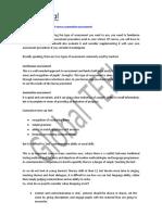 10 Continuous Assessment Versus Summative Assessment