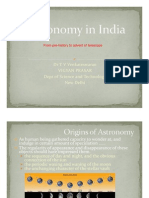 Astronomy in India Presentation