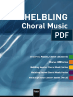 Catalogue Helbling Choral Music