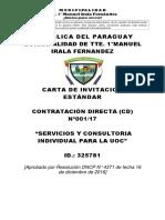 Carta Invitacion Estandar CD Convencional 1489173293150